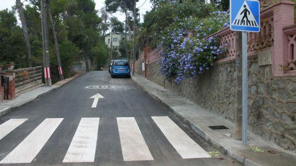 Ja finalitzades les obres del carrer Bona Vista a la Floresta
